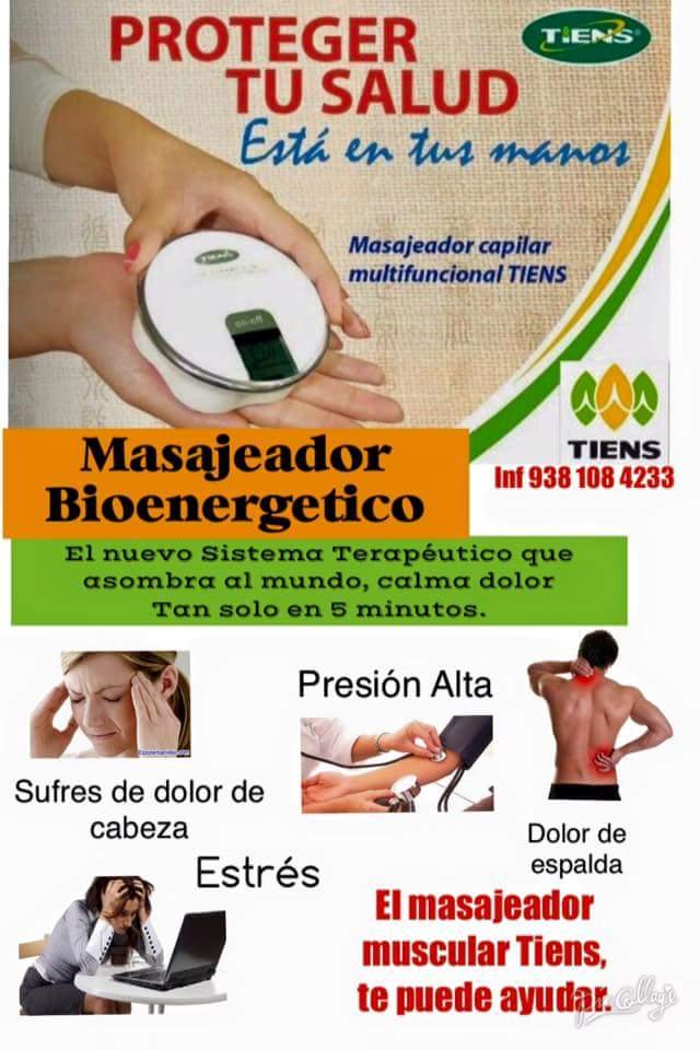 Masajeador Bioenergético